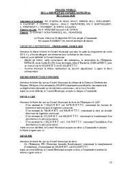 CR du 05 Février 2020